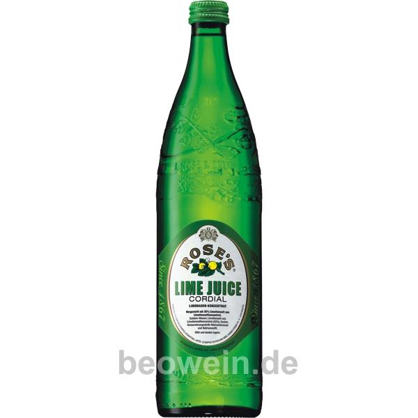 Rose's Lime Juice Cordial 0,75 l - günstig kaufen bei Beowein