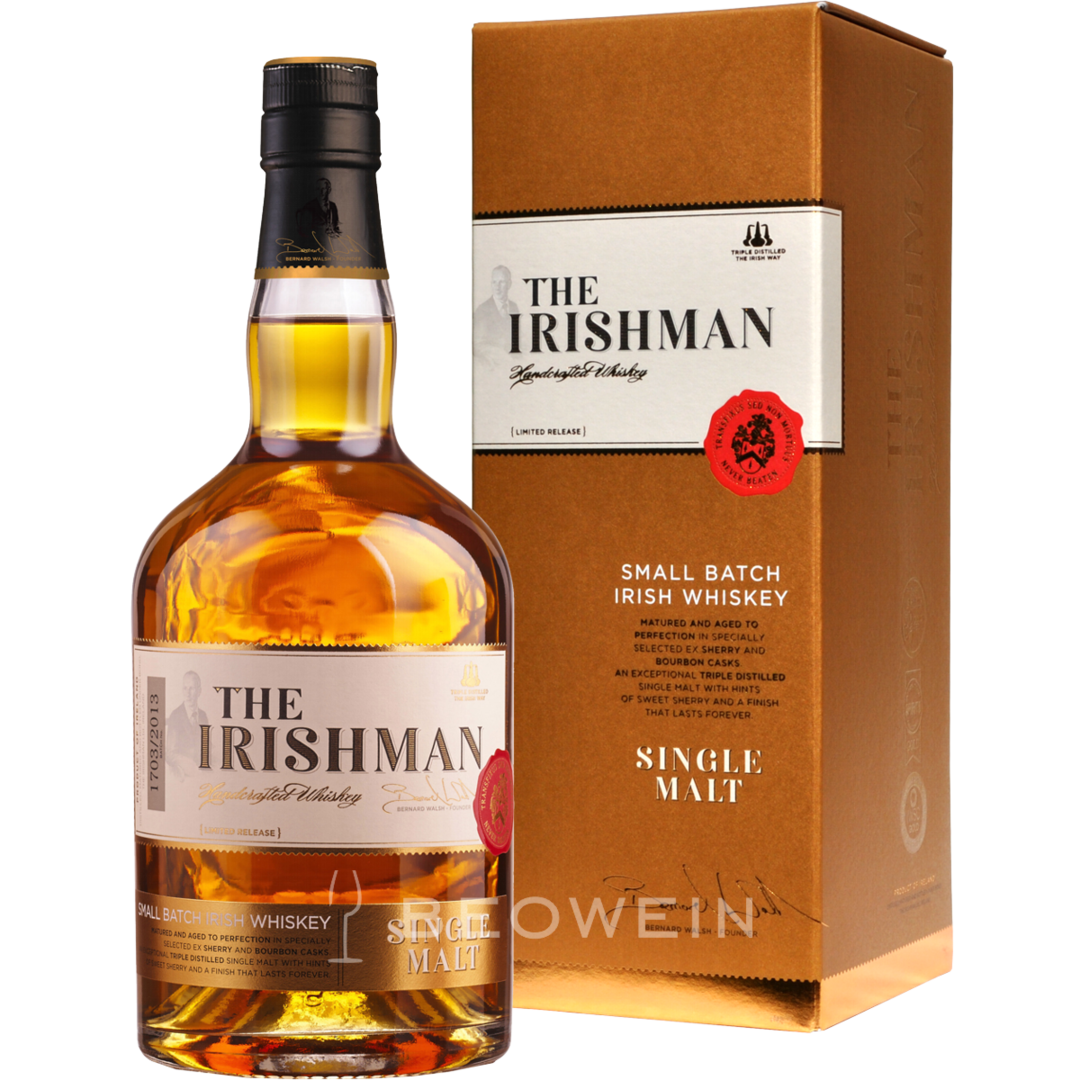 the irishman single malt 0 7 l irish whiskey kaufen bei beowein. Black Bedroom Furniture Sets. Home Design Ideas