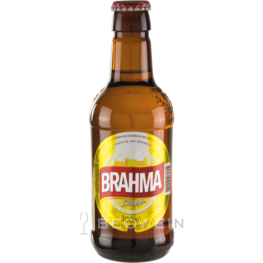 brahma chopp 0 3 l beer from brazil buy at beowein mail. Black Bedroom Furniture Sets. Home Design Ideas