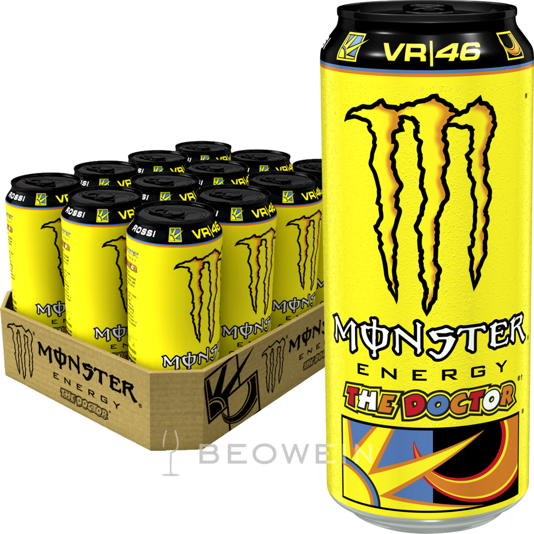 monster energy the doctor 12x0 5 l kaufen bei beowein. Black Bedroom Furniture Sets. Home Design Ideas